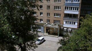 Typowe osiedle w Rosji
