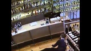 Niezły refleks pracownika sklepu