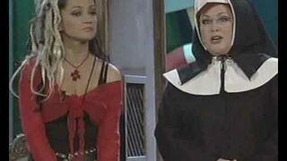 """Czeski kabarecik: Lucie Bílá, Karel Šíp & Naďa Konvalinková """"Klášter"""" (Za oponou 2007)"""