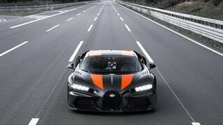 Bugatti Chiron | Speed record