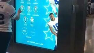 Nowoczesny automat do zdjęć z gwiazdami