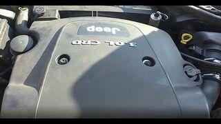 Wymiana chłodnicy oleju 3.0 V6 OM642 Merceres CDI Jeep Chrysler CRD