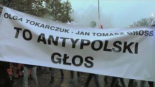 """""""Olga Tokarczuk i Jan Tomasz Gross to antypolski głos"""": nobelowe pozdro dla kult-elity z PiSu i okolic"""