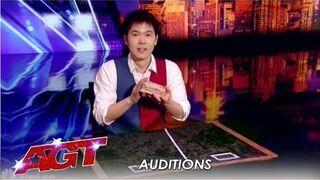 Eric Chien - niesamowity występ magika  w Mam Talent