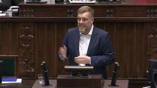 Lider Lewicy Adrian Zandberg obnażył przemówienie Morawieckiego
