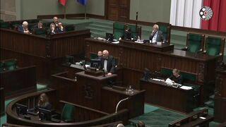 Korwin Mikke zabrał głos po expose Morawieckiego