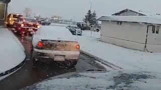 Przemoc na drodze w Kanadzie