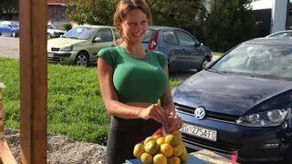 Najpopularniejszy sprzedawca mandarynek w Chorwacji