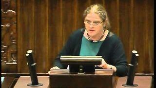 Krystyna Pawłowicz o głosowaniu korespondencyjnym (2013)