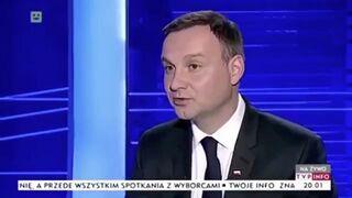 Czego Andrzej Duda oczekuje od telewizji publicznej?