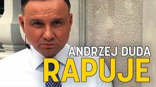 Prezydent Andrzej Duda rapuje! #Hot16Challenge2