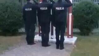 Poczet flagowy polskiej policji