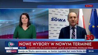 Marek Sowa na antenie TVP o obecnej telewizji publicznej