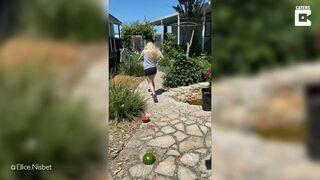 Eksperyment z arbuzem