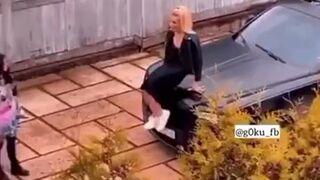 Kiedy ktoś ciągle siada na twoim samochodzie!