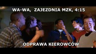 Odprawa na zajezdni MZK w Warszawa