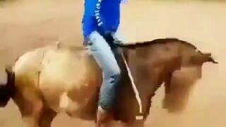 Koń załatwił kowboja