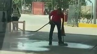 Kiedy brakuje wody na stacji benzynowej