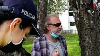 Wojciech Kinasiewicz i policyjna pogadanka o praworządności oraz przyzwoitości.