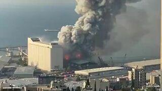 Potężna eksplozja w Bejrucie