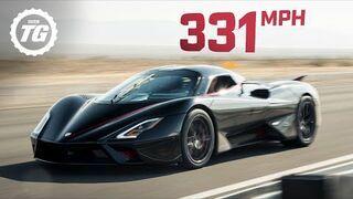 532 km/h - nowy rekord prędkości pobity przez SSC Tuatara