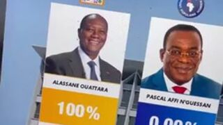 Wyniki wybory prezydenckich w Wybrzeżu Kości Słoniowej
