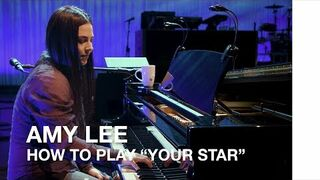 "Amy Lee: How to play ""Your Star"" by Evanescence"
