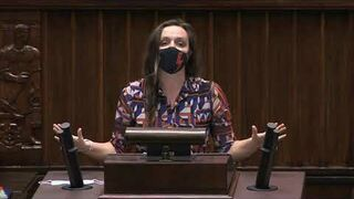 Klaudia Jachira - wystąpienie z 18 listopada 2020 r.