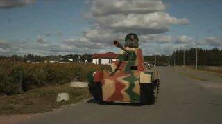 Stan wyjątkowy w Bydgoszczy, czołg na ulicach