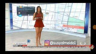 Susy Almeida - prezenterka pogody z Meksyku