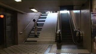 Pianino - schody