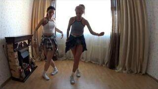 Taniec matki z córką
