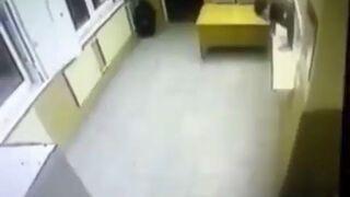 Szalona ucieczka z komisariatu w Rosji
