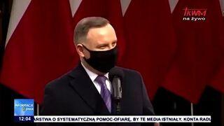 """Andrzej Duda wygwizdany w Bydgoszczy. Krzyczeli """"Będziesz siedział"""""""