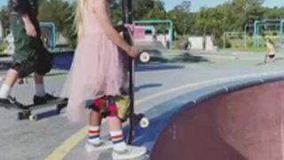 Mała skaterka