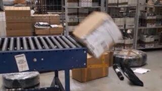 Tak wygląda sortowanie paczek