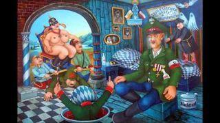 T. Chyła - Pochód Świętych & J.Lipowczan - malarstwo