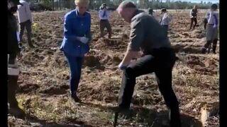 Do pomocy przy budowie płotu na granicy wezwano oddział specjalny