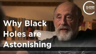 Kijanki w czarnej dziurze.  Leonard Susskind - Why Black Holes are Astonishing