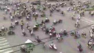 Skrzyżowanie w Hanoi