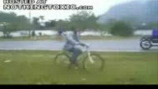 Bolesny wypadek rowerowy