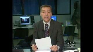 Bójka na antenie w czasie czytania wiadomości