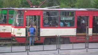 Tramwaj - Przeprowadzka menela