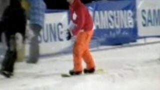 Połączenie koszykówki ze snowboardem