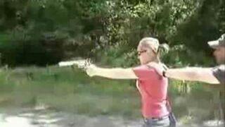 Porażka przy strzelaniu z broni