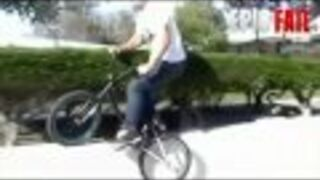 BMX Trick Fail