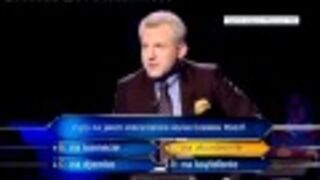 Milionerzy ,,Pierwszy polski milioner'' Pytanie za milion