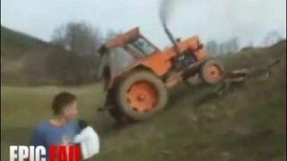 Traktorem pod górę