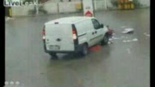 Wypadki na stacjach benzynowych