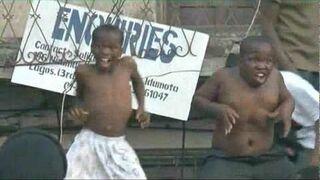 Tańczące dzieci z Nigerii